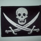 JOLLY ROGERS BIKER / MILITARY PATCH