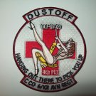 C Co 6-101 DUSTOFF AVN REGT - HANGING OUT THERE TO PICK YOU UP - MILITARY PATCH