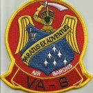 US NAVY VA-8 Reserve Squadron EIGHT Military Patch AIR BARONS - PARATUS EX ADV
