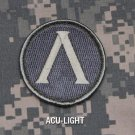 LAMBDA SHIELD ACU LIGHT TACTICAL COMBAT BADGE ISAF MORALE VELCRO MILITARY PATCH