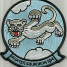 US NAVY FIGHTER SQUADRON SIX NINE FOUR VF 694 MILITARY PATCH - PANTHER