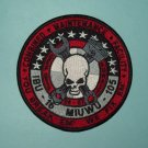 IBU 16 INSHORE BOAT UNIT MIUWU 105 YOU BREAK EM' WE FIX EM' MILITARY PATCH OEF