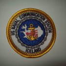 US NAVAL COMMUNICATION STATION - ICELAND - MILITARY PATCH