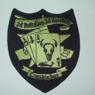 2nd BATTALION 2nd AVIATION - COMANCHES  MILITARY PATCH General Support Aviation