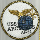 USS ARCTURUS AF-52 ALSTEDE-CLASS STORES SHIP MILITARY PATCH - EAGLE
