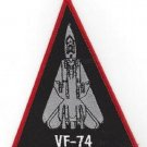 US NAVY VF-74 AVIATION FIGHTER SQUADRON MILITARY PATCH TRIANGLE JET