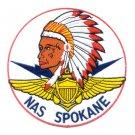 US NAVAL AIR STATION NAS SPOKANE WASHINGTON MILITARY PATCH