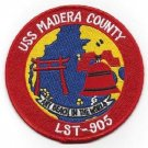 NAVY LST-905 USS Madera County LST-542 Class Tank Landing Ship Military Patch
