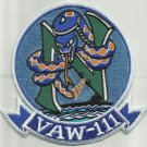 NAVY VAW-111 AIRBORNE CARRIER EARLY WARNING SQUADRON MILITARY PATCH SNAKE