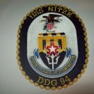 DDG-94 USS NITZE Guided Missile Destroyer Military Patch