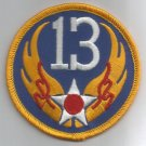 13th AIR FORCE - MILITARY  PATCH - Thirteenth Air Force USAF