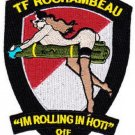 ARMY 1st BN 227th Aviation Reg 1st Air Cavalry Military Patch OIF TF ROCHAMBEAU
