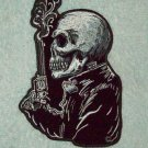 GUNFIGHTER SKULL ROCKABILLY MOTORCYCLE JACKET LEATHER VEST MORALE BIKER PATCH
