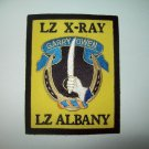 "ARMY 7th CAVALRY REGIMENT PATCH ""Garry Owen"" LZ X-RAY & LZ ALBANY MILITARY PATCH"