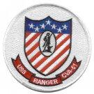 USS RANGER CVA-61 AIRCRAFT CARRIER MILITARY PATCH