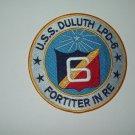 US NAVY - LPD-6 USS DULUTH Austin-Class Amphibious Transport Dock Military Patch
