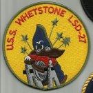US NAVY USS WHETSTONE LSD-27 CASA GRANDE-CLASS DOCK LANDING SHIP MILITARY PATCH