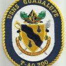 USNS GUADALUPE T-AO 200 FLEET REPLENISHMENT OILER SHIP CREST MILITARY PATCH