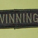 WINNING! ACU LIGHT SPECIAL OPS TACTICAL BADGE MORALE VELCRO MILITARY PATCH