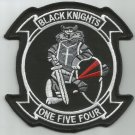 NAVY VF-154 Aviation Fighter Squadron Military Patch TOMCAT BLACK KNIGHTS