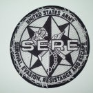 US ARMY - SERE - SURVIVAL, EVASION, RESISTANCE & ESCAPE - MILITARY PATCH 5""