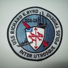 DDG-23 USS RICHARD E. BYRD GUIDED MISSILE DESTROYER MILITARY PATCH
