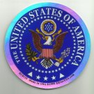 UNITED STATES OF AMERICA MILITARY CAR VEHICLE WINDOW DECAL PATRIOTIC STICKER