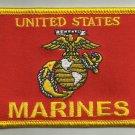 UNITED STATES MARINES LOGO FLAG USMC MOTORCYCLE JACKET BIKER VEST MILITARY PATCH