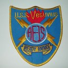 USS VESUVIUS (AE-15)  AMMUNITION SHIP MILITARY PATCH