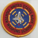 United States NAVY FIGHTER WEAPONS SCHOOL MILITARY PATCH  3""