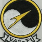 US NAVY VA2-F1 Attack Squad SPECIAL OPERATION FLIGHT FOXTROT ONE Military Patch