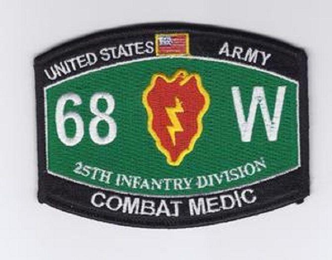 Combat medic patch
