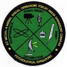 ARMY LT Michael Merkel Special Media Complex Psychological Ops Military Patch