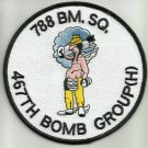 USAF - 788 BOMBING BM SQ SQUADRON 467TH BOMB GROUP (H)  MILITARY PATCH