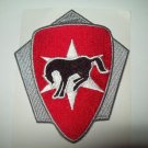 US ARMY 6th CAVALRY BRIGADE UNIT CREST MILITARY PATCH