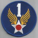 1st  AIR FORCE - ARMY MILITARY PATCH - First Air Force USAF
