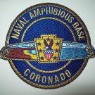 NAVAL AMPHIBIOUS BASE - CORONADO - US NAVY - MILITARY PATCH