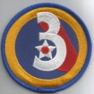 3rd AIR FORCE - ARMY MILITARY PATCH - Third Air Force USAF