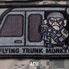 FLYING TRUNK MONKEY - ACU - TACTICAL BADGE MORALE VELCRO MILITARY PATCH