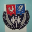 US ARMY 4th BRIGADE 3rd INFANTRY DIVISION STB 23 MILITARY PATCH - ONE TEAM FIGHT