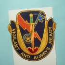 US ARMY 4th BRIGADE 1st CAVALRY DIVISION STB 21 MILITARY PATCH - VIGILANT READY