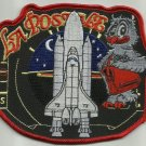 STS86 SPACESHUTTLE ATLANTIS LA POSTALE SPACE EXPLORATION ISS NASA MILITARY PATCH