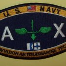 U.S. NAVY AVIATION ANTISUBMARINE TECH - AX - MILITARY RATING PATCH