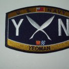United States Navy YEOMAN Ratings Patch - YN - Military Patch