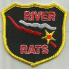 RIVER RATS  MILITARY PATCH - SHIELD