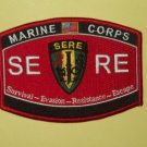 USMC MILITARY OCCUPATIONAL SPECIALTY - SERE - MOS Military Patch - MARINE CORPS