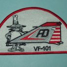 US NAVY VF-101 AVIATION FIGHTER SQUADRON PHANTOM TAIL MILITARY PATCH - SPOOK