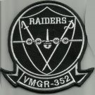 USMC MARINE AERIAL REFUELER TRANSPORT SQUAD 352 VMGR 352 MILITARY PATCH RAIDERS