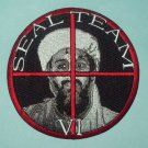 US NAVY SEAL TEAM VI OSAMA BIN LADEN TARGET MILITARY PATCH