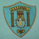 USS CATSKILL MCS-1 MINE COUNTERMEASURES SHIP MILITARY PATCH